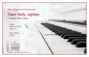 Guest Recital Dawn Neely Poster for Web